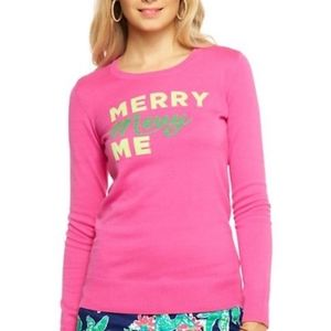 Lilly pulitzer merry merry me sweater